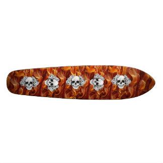 bacon skull long board skateboard decks