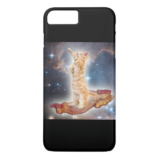 Bacon Space Kitty iPhone 7 Plus Case