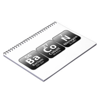 BaCoN Spiral Notebook