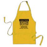 Bacon Splatter Caution Apron