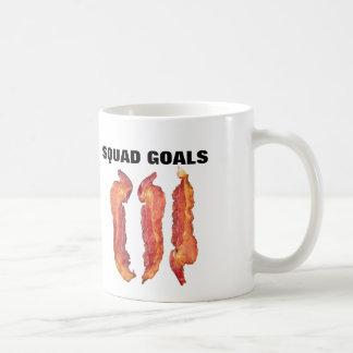 Bacon Squad Goals Coffee Mug