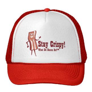 Bacon Stay Crispy Trucker Hat