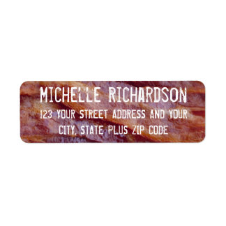 Bacon Strips Label