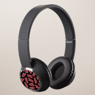 Bacon Strips Pattern Headphones