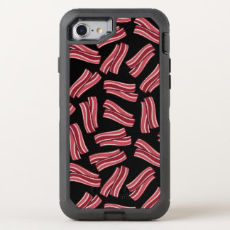 Bacon Strips Pattern OtterBox Defender iPhone 7 Case