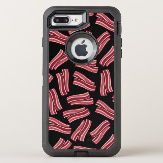 Bacon Strips Pattern OtterBox Defender iPhone 7 Plus Case