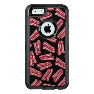 Bacon Strips Pattern OtterBox Defender iPhone Case