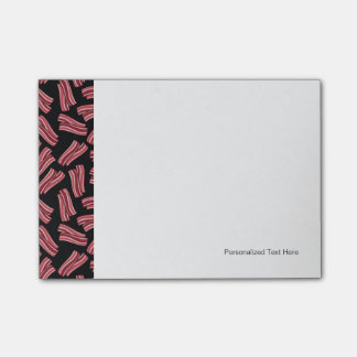 Bacon Strips Pattern Post-it Notes