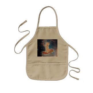 Bacon Surfing Cat in the Universe Kids' Apron