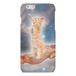 Bacon Surfing Cat in the Universe Matte iPhone 6 Case