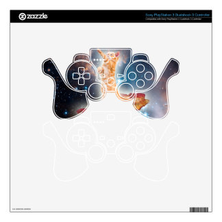 Bacon Surfing Cat in the Universe Skin For PS3 Controller