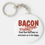 Bacon T-shirts and Gifts. Keychain