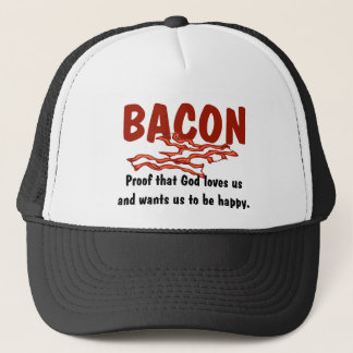 Bacon T-shirts and Gifts. Trucker Hat