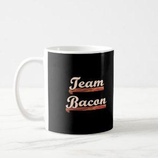 Bacon Team Classic White Coffee Mug