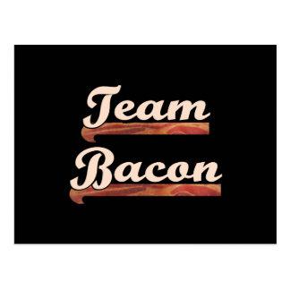 Bacon Team Postcard