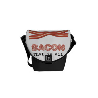Bacon That is All Courier Bag