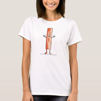 BACON (the comic book) on Light for Her. T-Shirt