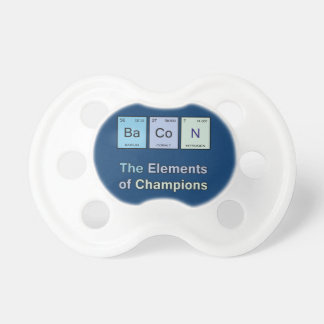 Bacon, The Elements of Champions BooginHead Pacifier