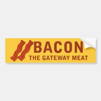 Bacon The Gateway Meat Bumper Sticker