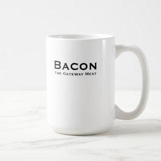 Bacon, The Gateway Meat ceramic mug