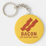 Bacon, The Gateway Meat Key Chains