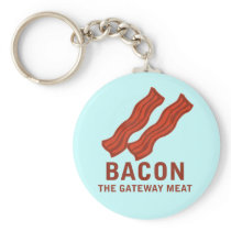 Bacon, The Gateway Meat Keychain