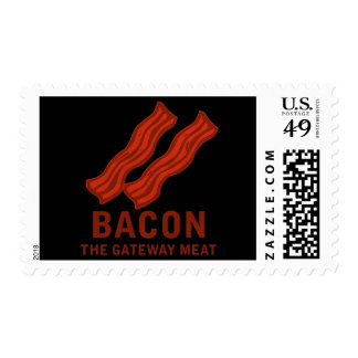 Bacon, The Gateway Meat Postage Stamp