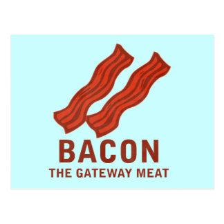 Bacon, The Gateway Meat Postcard