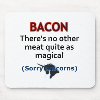 Bacon, the Magical Meat Mousepad