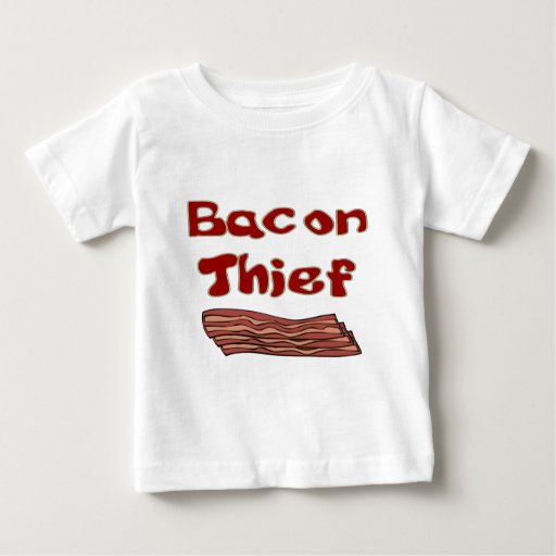 bacon thief baby T-Shirt