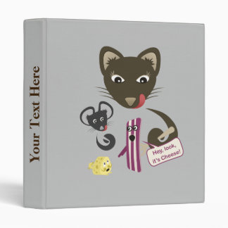 Bacon Unites Friends and Foes 3 Ring Binders