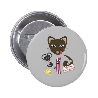 Bacon Unites Friends and Foes Buttons