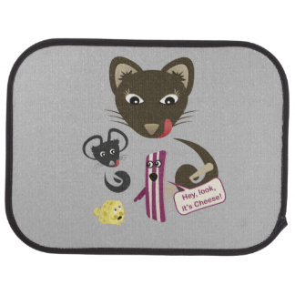 Bacon Unites Friends and Foes Car Mat