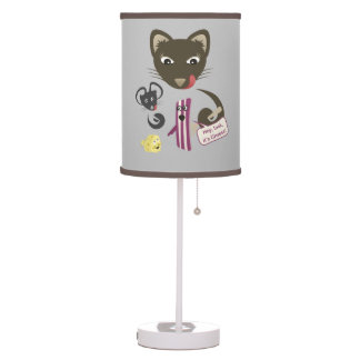 Bacon Unites Friends and Foes Desk Lamp