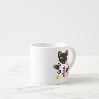 Bacon Unites Friends and Foes Espresso Cup