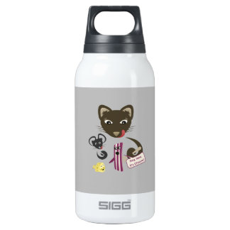 Bacon Unites Friends and Foes Insulated Water Bottle