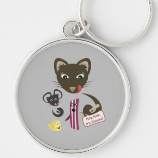 Bacon Unites Friends and Foes Key Chain