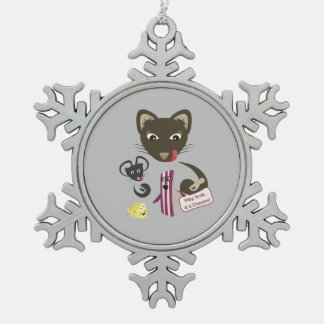 Bacon Unites Friends and Foes Ornament