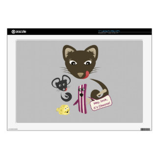 """Bacon Unites Friends and Foes Decals For 17"""" Laptops"""