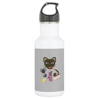 Bacon Unites Friends and Foes Water Bottle