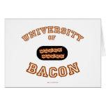 Bacon University Card