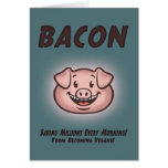 Bacon - Vegan Card