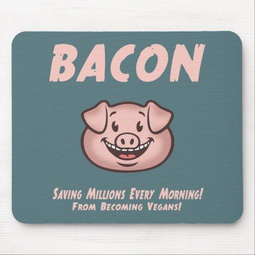Bacon - Vegan Mouse Pads