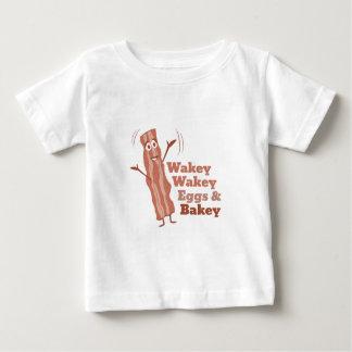 Bacon_Wakey_Wakey_Eggs_&_Bakey T Shirts