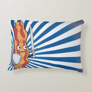 Bacon Warrior Accent Pillow