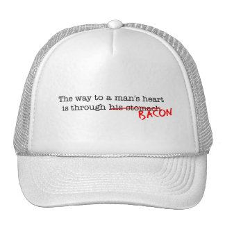 Bacon Way to a Man's Heart Trucker Hat