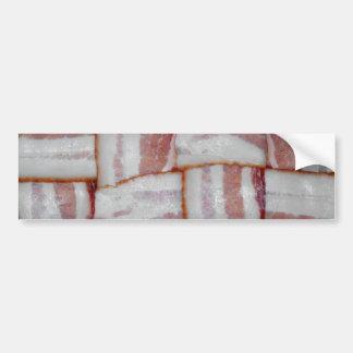 Bacon Weave Bumper Sticker