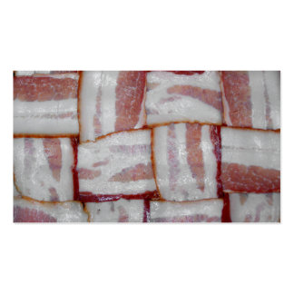 Bacon Weave Double-Sided Standard Business Cards (Pack Of 100)