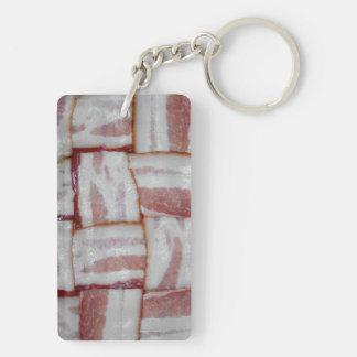 Bacon Weave Acrylic Key Chain