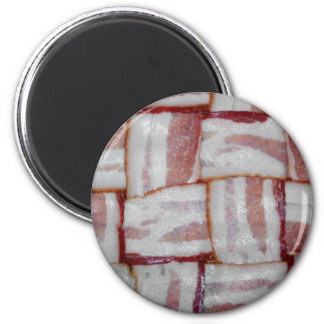 Bacon Weave Magnet